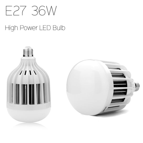 E27 36W 3600LM SMD5730 Warm White/White High Power LED Light Bulb 220V