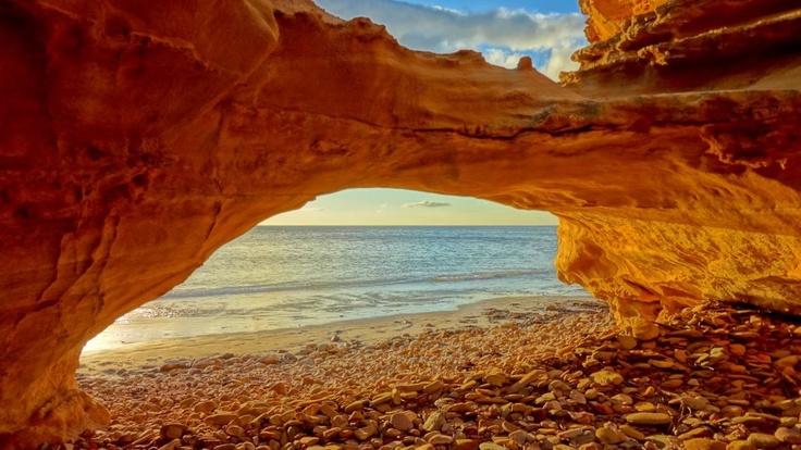 Jowita Kowalik | Natural Arch at Sellicks Beach, SA