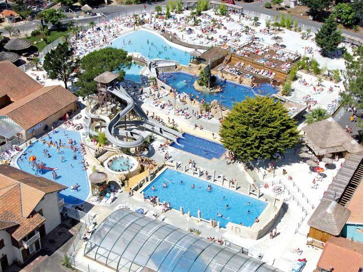 Ber ideen zu parc aquatique auf pinterest for Camping vieux boucau avec piscine