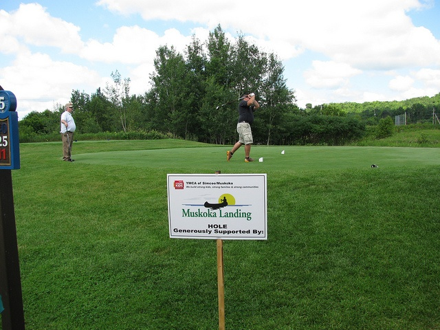 Thank you Muskoka Landings for supporting a hole at the Huntsville Golf Tournament