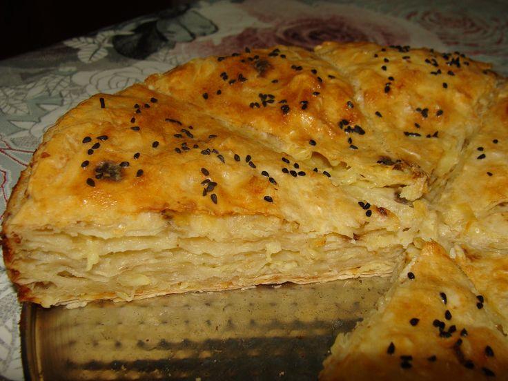 662. Börek с сыром и с фаршем (турецкая кухня)