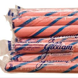 80ct Candy Sticks Cotton Candy