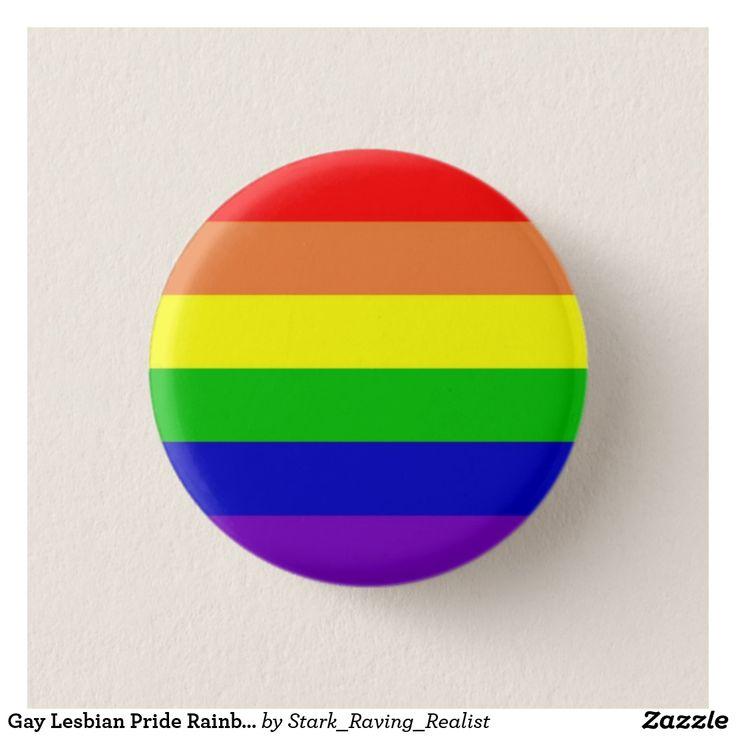 Gay Lesbian Pride Rainbow Flag