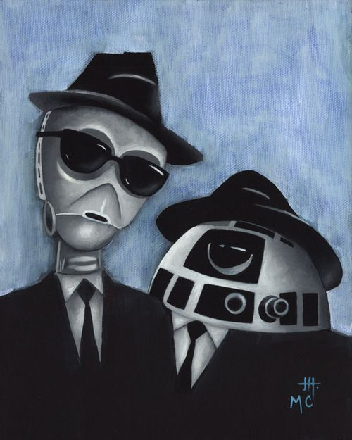 We're on a Mission From Leia - Star Wars and The Blues Brothers