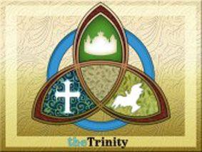 33 best Holy Trinity Art images on Pinterest | Trinity ...