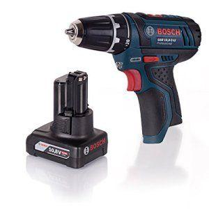 Bosch Powerset Perceuse-visseuse sans fil GSR 10,8–2-Li + Batterie GBA 10,8V 4Ah Sans chargeur