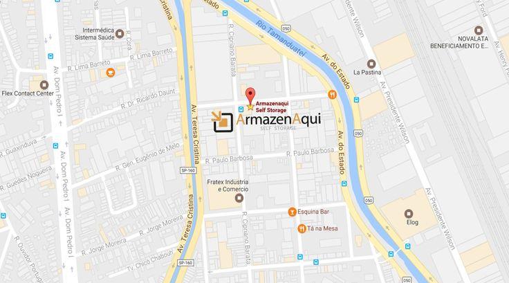 O Armazenaqui é um Self Storage localizado em São Paulo  no Ipiranga, próximo as principais vias de acesso ,tais como Av. do Estado, Av. Dr Ricardo Jafet, Av. Teresa Cristina, Rodovia Anchieta, Av. das Juntas Provisórias e Av. Tancredo Neves.