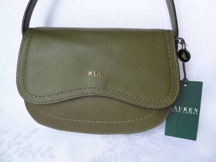 Ralph Lauren Green Bag