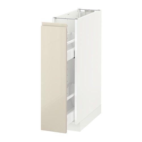 METOD Unterschrank+ausziehb. Einrichtg. IKEA Guter Überblick und Zugriff dank…