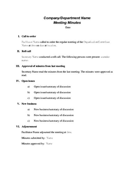 Formal meeting minutes  #minutes #notes #notestemplate #notetakingtips #notetaking #minutestemplate #meetingtemplate #admintips #admintemplate #adminhelp #administrativeassistant #ea #executiveassistant #executiveassistanttips #templates