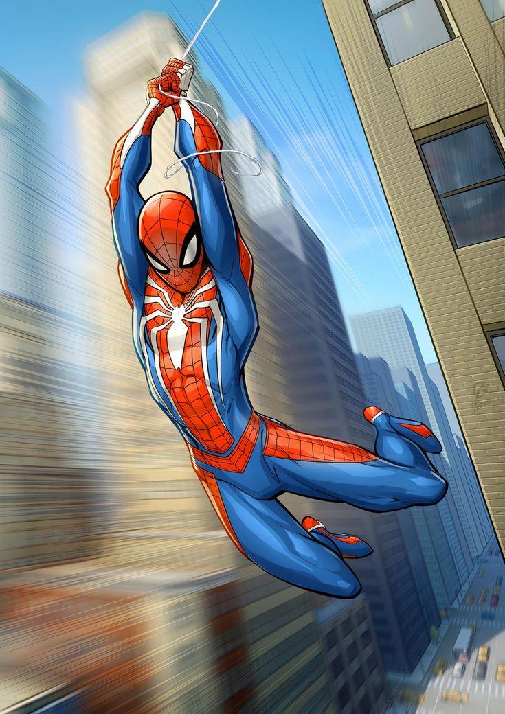 Spiderman PS4 by PatrickBrown on DeviantArt in 2020