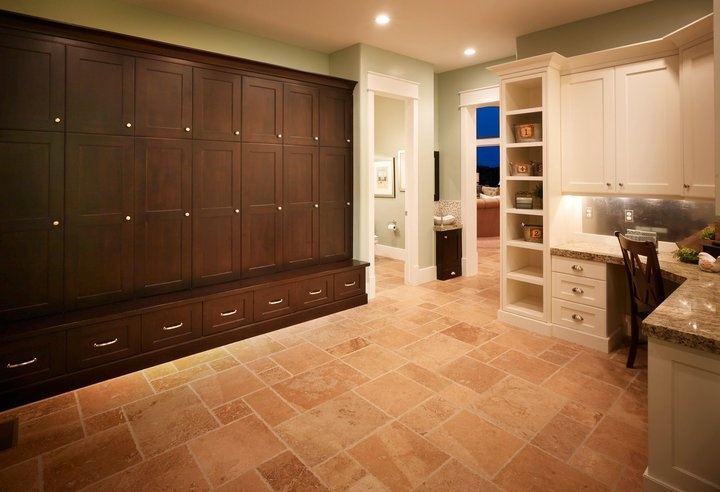 Large Family Mud Room Entry Hallways Utility