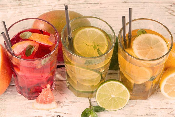 Receitas de Drinks Gin & Pink Grapefruit e Tequila Sunrise