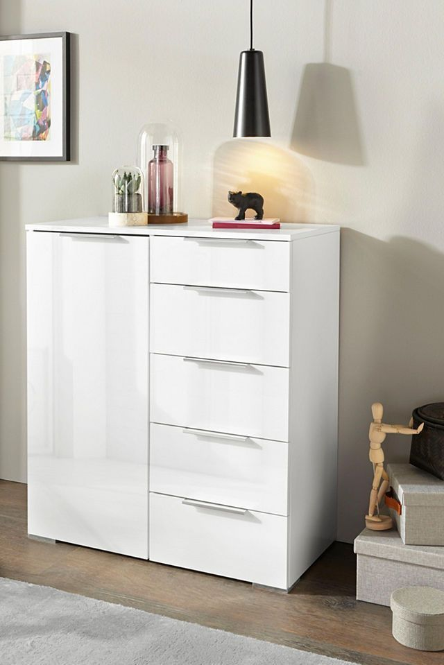 incredibly incredible bruno banani chest of drawers, width 81 cm buy