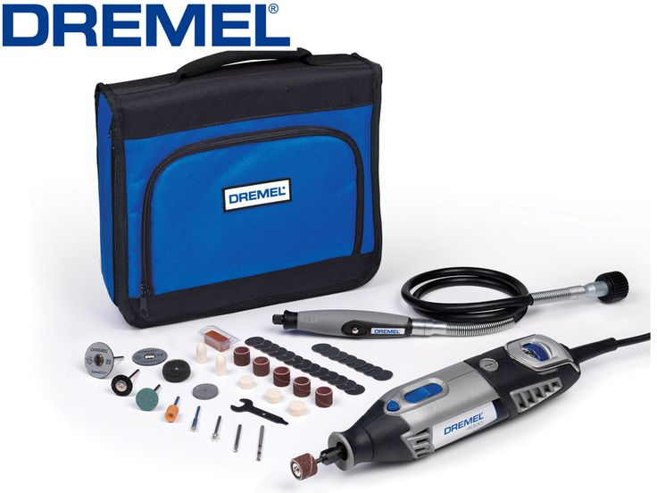 Dremel 4000 And Flexshaft, Dremel  4000 With Accessory Kit