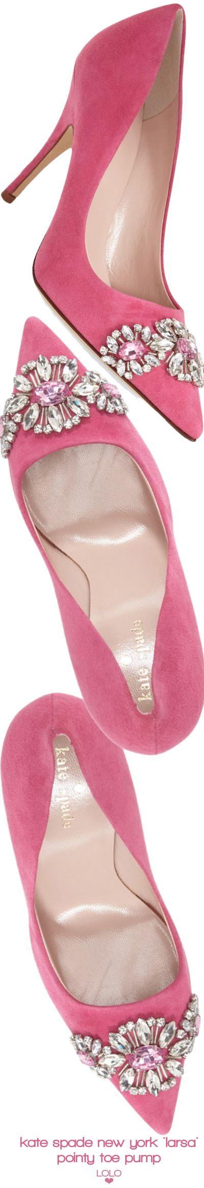kate spade new york 'larsa' pointy toe pump | LOLO❤︎