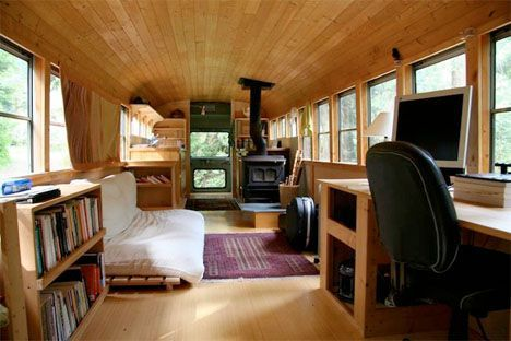 Flimsy, factory-made RVs have nothing on these totally customized, cozy buses converted into compact rolling homes. Dusty, run-down clunkers of school buses and city buses may not look like much at…