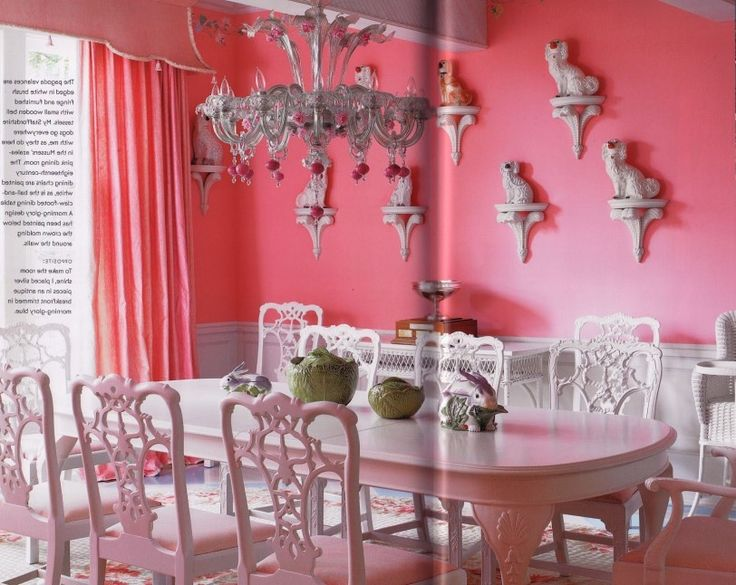 The 223 best Dining Room images on Pinterest | Pink dining rooms ...