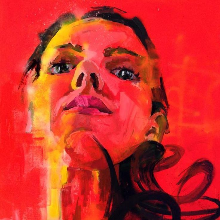 stella kapezanou fluorescent -bigger than life - self portrait