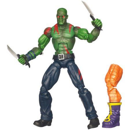 Marvel Universe Build A Figure Collection Arnim Zola! Series Marvel Legends Marvel's Drax Figure, Multicolor