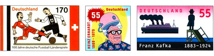 German Stamps. so cool