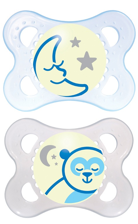 MAM Night 0+ Soother (Boy)