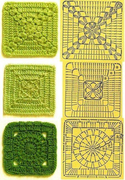 Delicadezas en crochet Gabriela: Selección de muestras y motivos a crochet