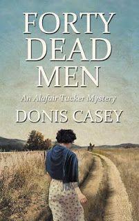 MysteriesEtc: Review:  Forty Dead Men (Alafair Tucker, #10)  by ...