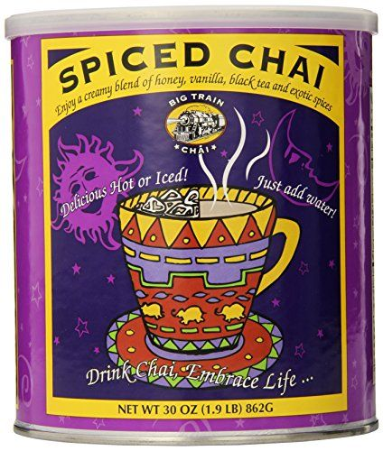 Cool Big Train Spiced Chai, 1.9-Pound Cans (Pack Of 2