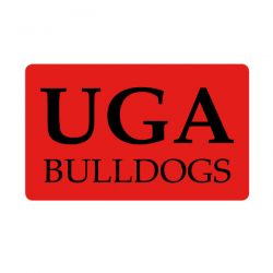 University of Georgia Bulldogs Custom Return Address Labels - Free Shipping. Your University Return Address label on your College Announcements will emphasize your team spirit. GO DAWGS!