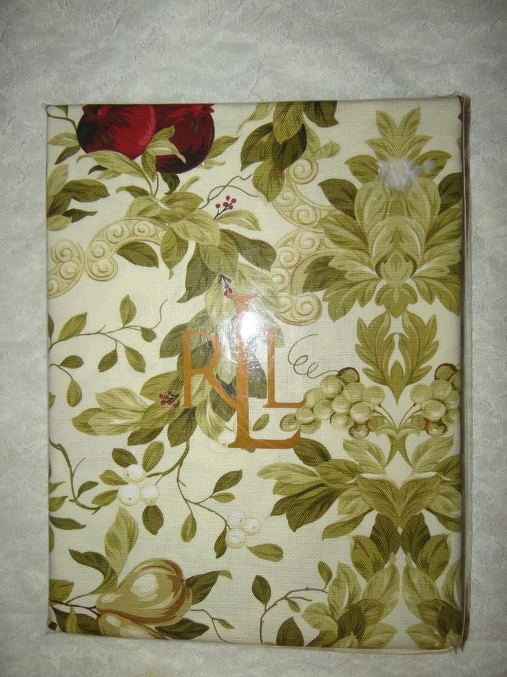 Ralph Lauren Brookfield Floral Tablecloth 60 X 84 Oblong   NEW #RalphLauren