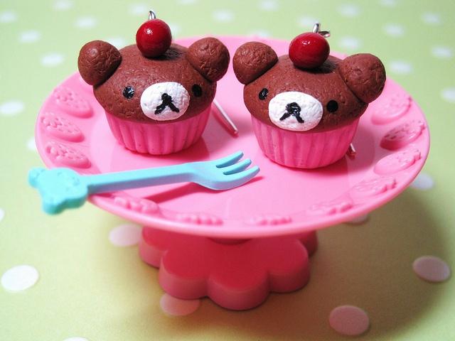 Bear cupcakes: Treats, Sweets, Bears, Bear Cupcakes