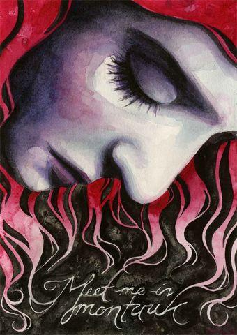 "Kelly McKernan ""Meet Me in Montauk"". Inspired by Eternal Sunshine of the Spotless Mind"