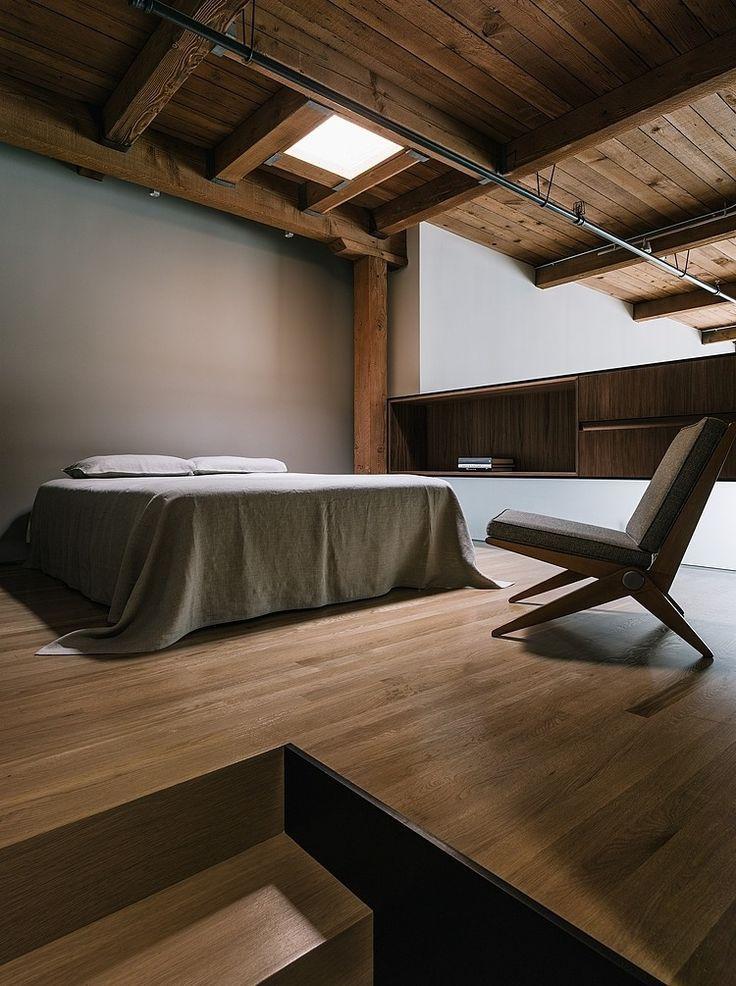 138 best Intérieur Minimaliste images on Pinterest - peindre un lit en bois