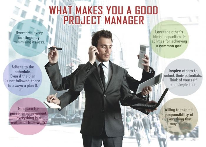 how to be a good project manager pdf