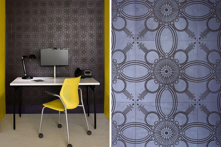 Luxurious Leather Tile | KitchAnn Style