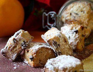 """Рождественское  немецкое печенье """"Mini-Stollen"""""""