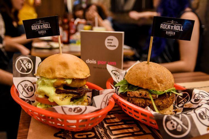 dois por um: Rock 'n' Roll Burger