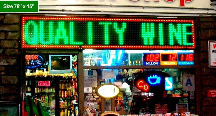 Top quality LED signs for sale. Browse our large collection of outdoor LED signs for sale including scrolling led signs and led window signs. Call us 1-888-885-7740