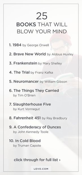 25 books that will blow your mind