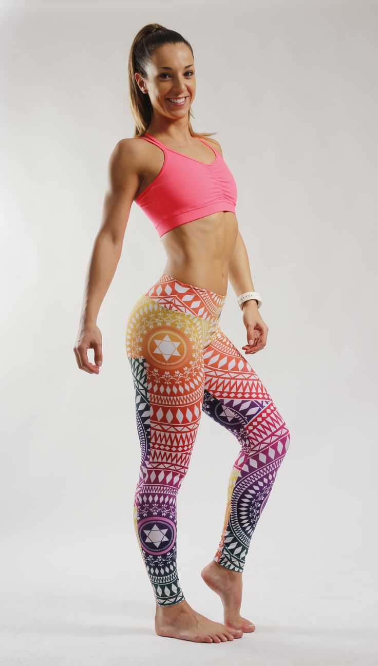 Leggins Mandala Colores Sweet Sweat