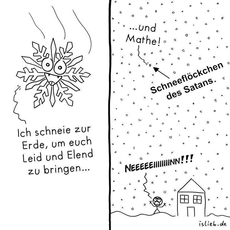 Flocke | #schnee #schneeflocke #mathe #islieb | https://islieb.de/