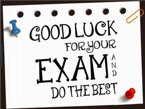 When Exams are near every student have the same condition, They are nervous and in fear, They need inspirational best Exam Wishes from their loved ones. Write a sweet wish for someone who is reelin…