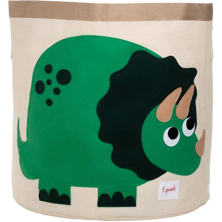Great Aufbewahrung im Kinderzimmer Grosse Spielzeugtasche Dino x cm von sprouts
