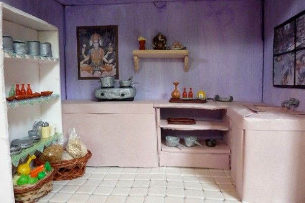 21 best images about indian kitchen designs on pinterest for South indian style kitchen models