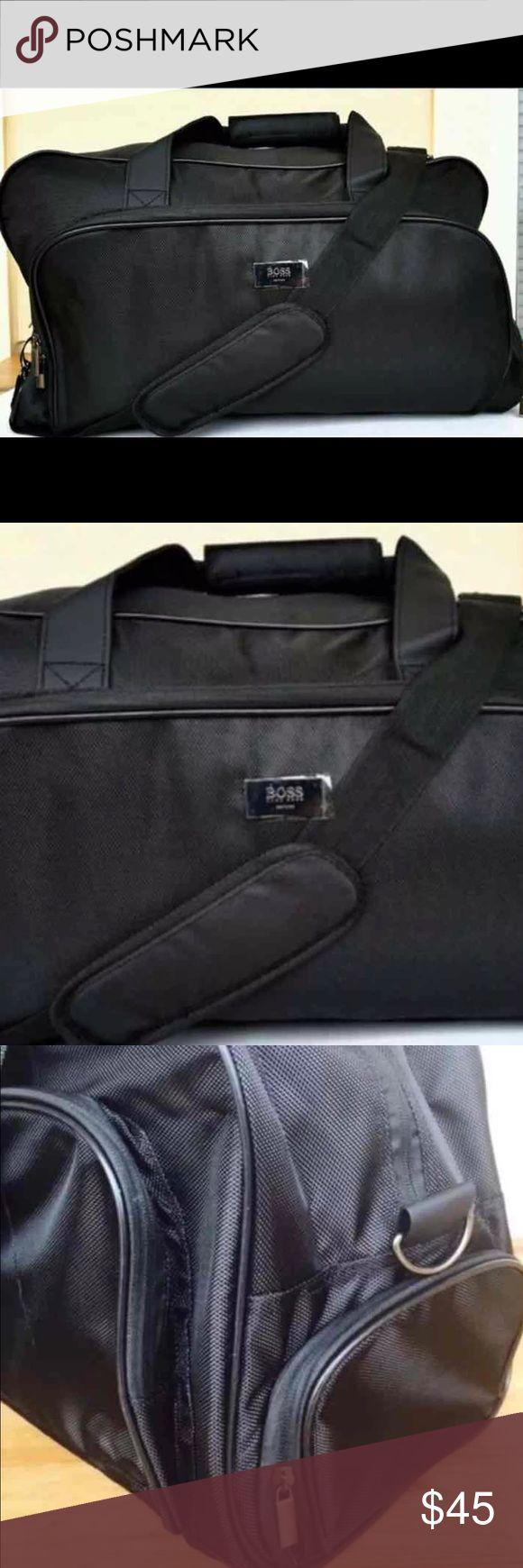 TWO BAGS 💼 Hugo Boss perfume bag Hugo Boss perfume travel case/ Bag rough material HUGO Bags Travel Bags