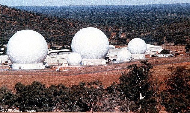 Pine Gap (pictured) is the single most important US intelligence facility outside of America, according to the Nautilus Institute and employs 1000 people