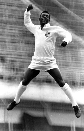 Pele, Santos (1956-1974)
