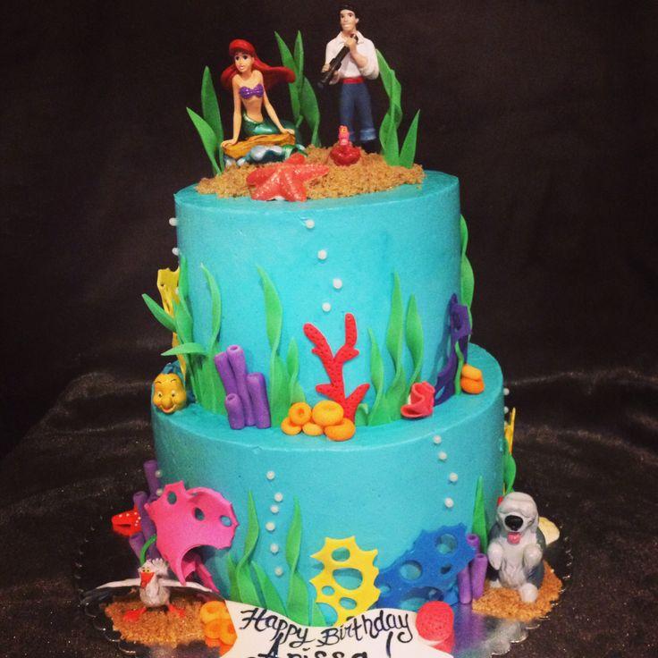 Mermaid Birthday Cake Pinterest