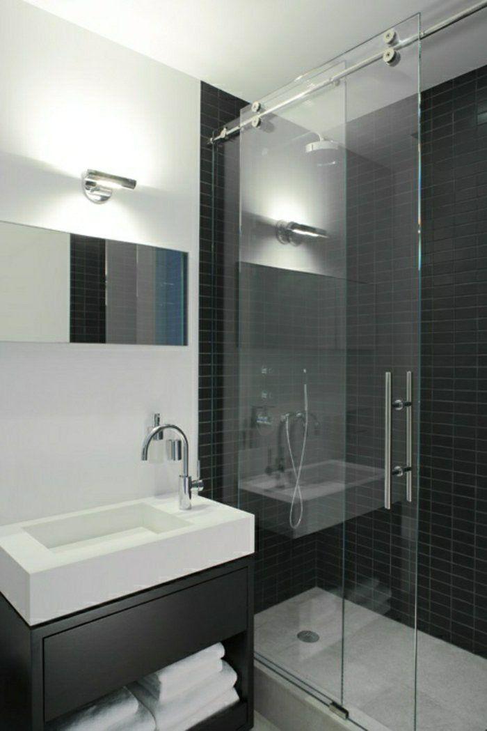 la porte coulissante en 43 variantes magnifiques porte coulissantemeubles pour salle de bainssalle - Porte De Salle De Bain